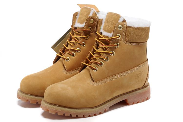 timberland chaussure femme fourrure
