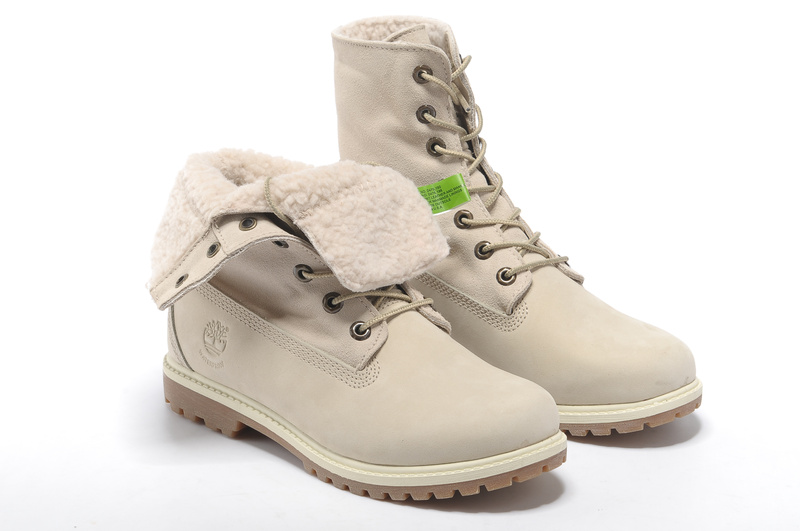 chaussure timberland femme blanche