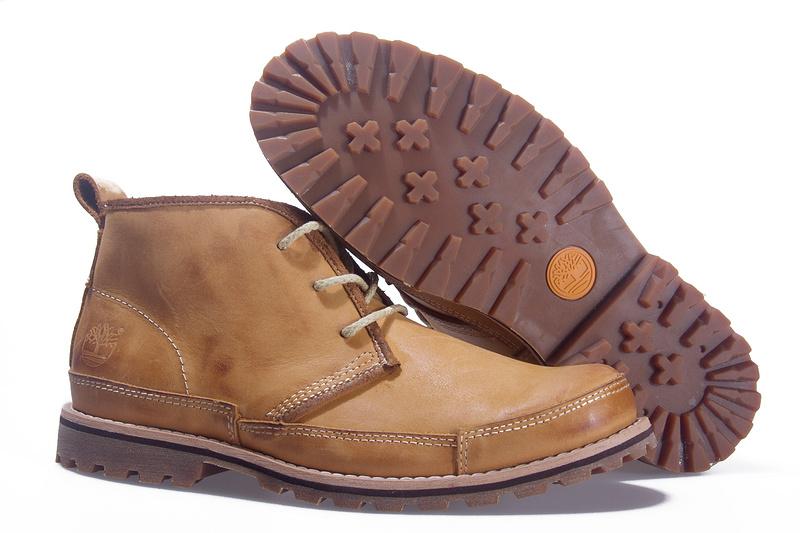 bottes timberland femme cuir