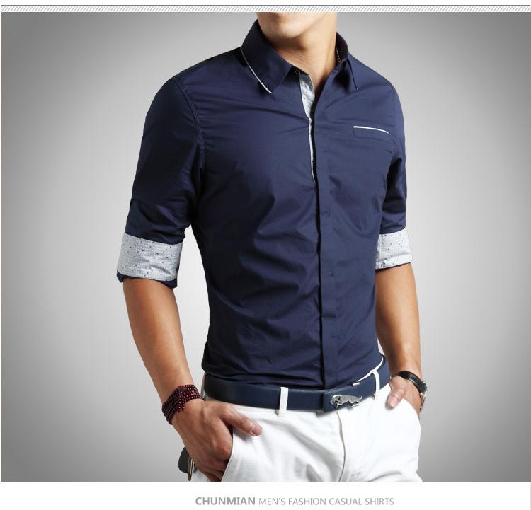 Extrêmement chemise homme slim,chemises pierre clarence soldes,chemise fil à fil SR13