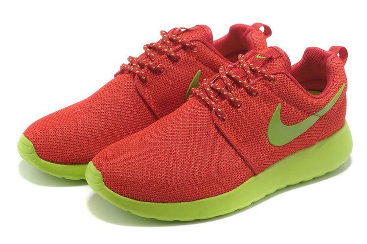 nike roshe run chaussures rouge